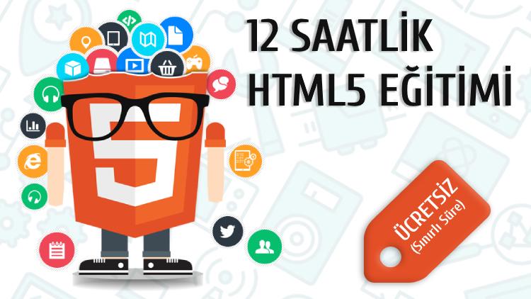HTML5 ÜCRETSİZ EĞİTİMİ