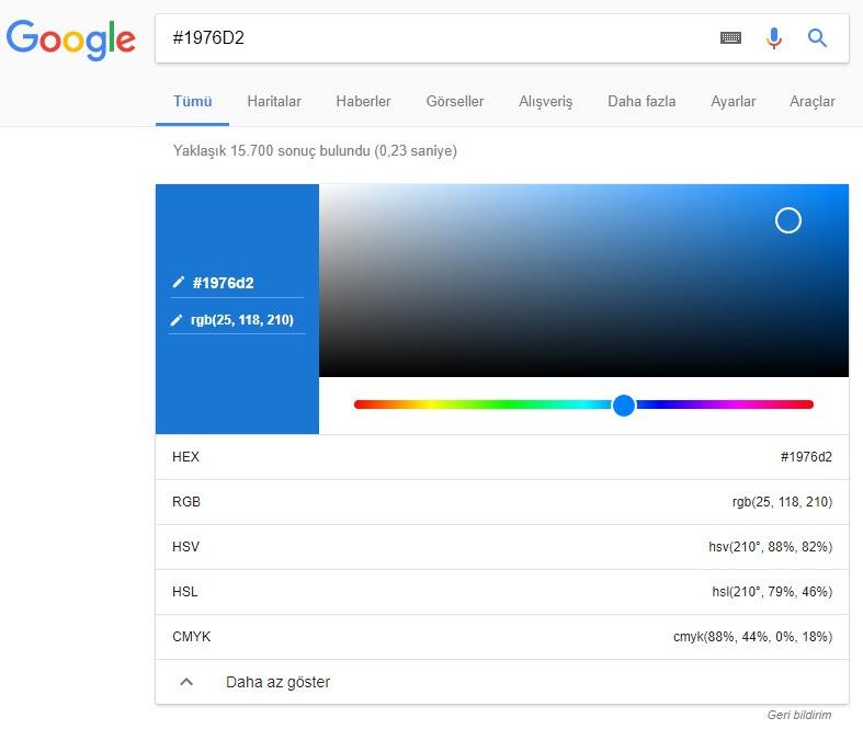 Google color picker